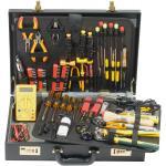 Werkzeug-Komplettset, 83-teilig Umfangreiches Werkzeugsortiment im abschließbaren Koffer