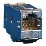 Metz Connect E-DATmodul Kupplung 8(8) Cat.6 RJ45 Buchse / Buchse Adapter zum Einbau in Modulträger oder IP44 Aufputzgehäuse