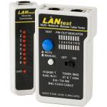 Netzwerkkabeltester 'LANtest' für Netzwerk- und Telefonkabel Zuverlässiger Kabeltester für die Installation und Wartung von Netzwerken