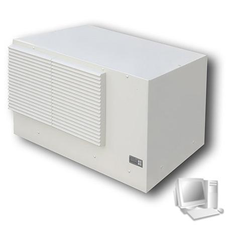 Triton Dach-Klimagerät 2,8 kW, hellgrau RAL 7035, mit Drehzahlsteuerung, ETE28LN2207000R Zur Montage auf den Netzwerkschränken der Produktreihe RIE und RDE (mit Schutzgrad IP54)